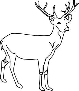 Deer Clip Art at Clker.com.