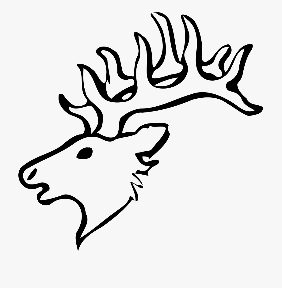 Clipart Deer Head.