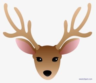 Reindeer Clipart Blue.