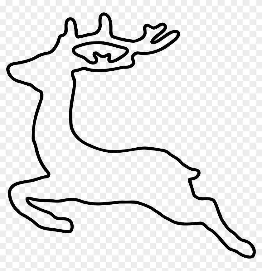 Reindeer Clipart Elegant.