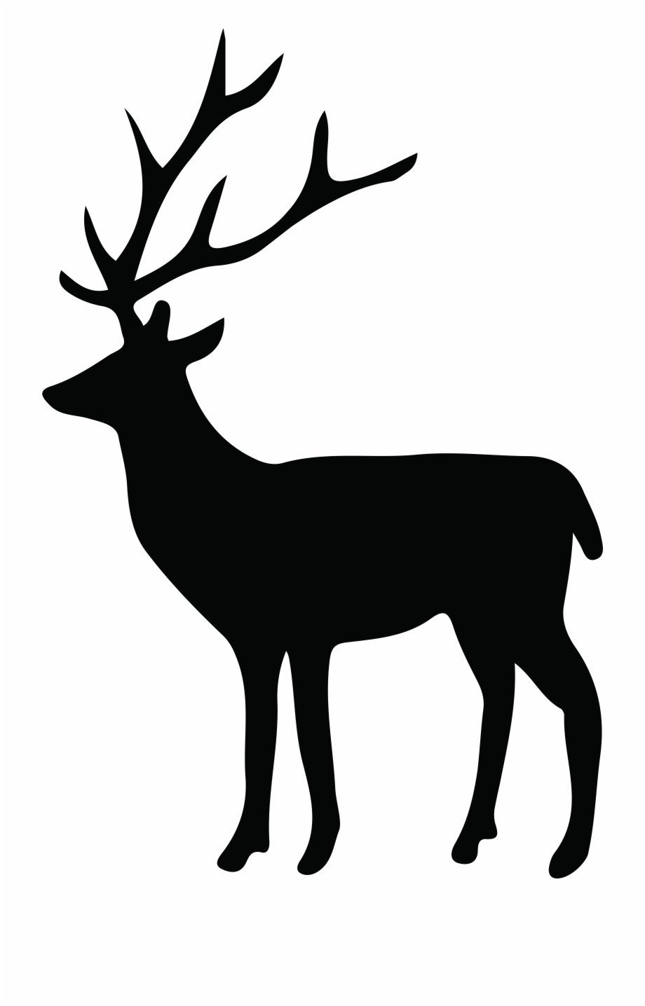 Clipart Freeuse Download Mule Deer Silhouette.