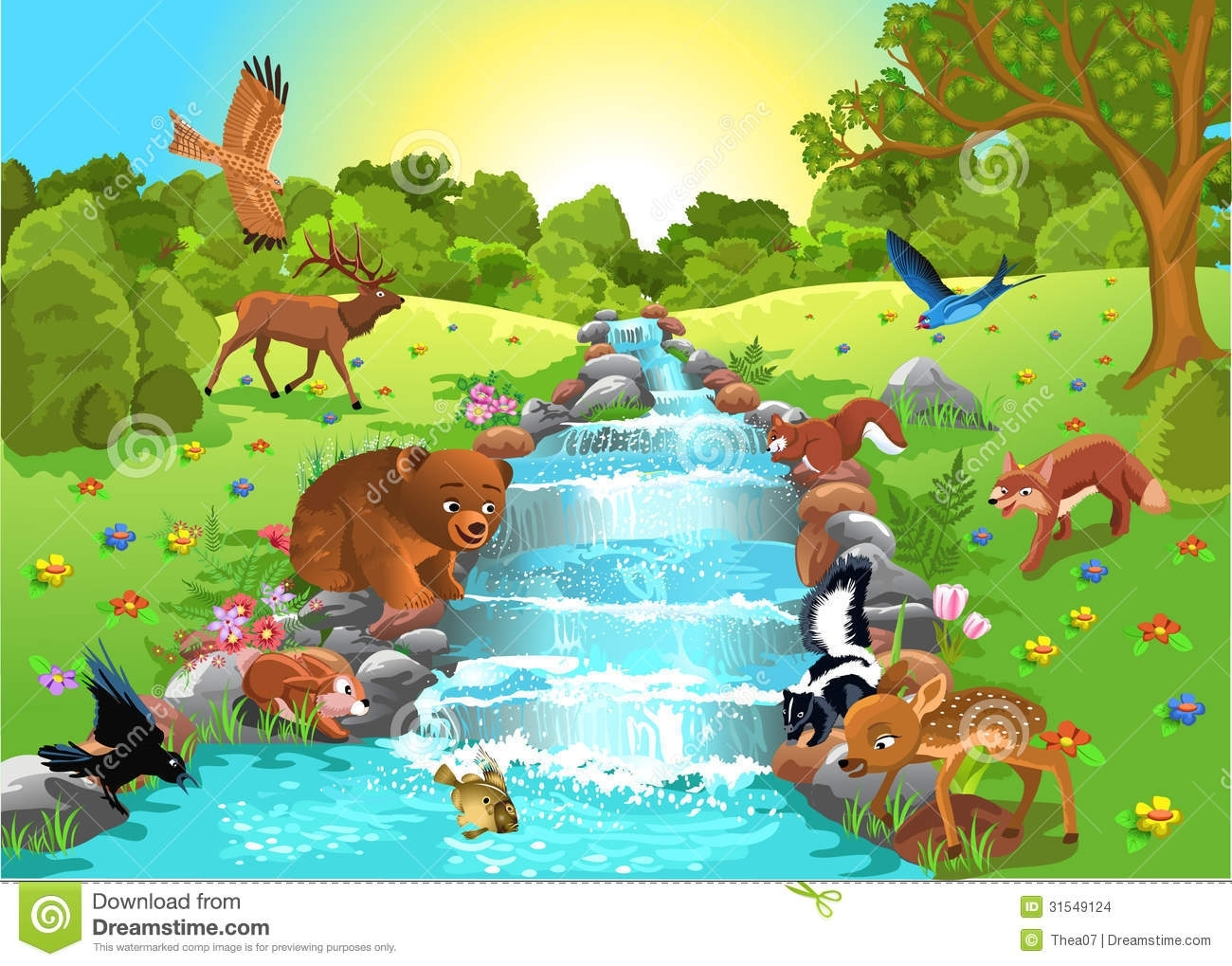 Creature Drinking Water Clip Art Pictures to Pin on Pinterest.
