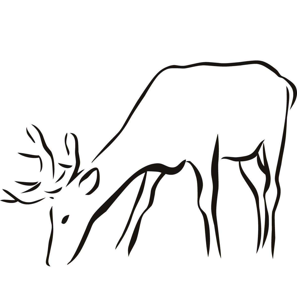 Outline Of Animals Popular With Images Of Outline Of 77 #10799.