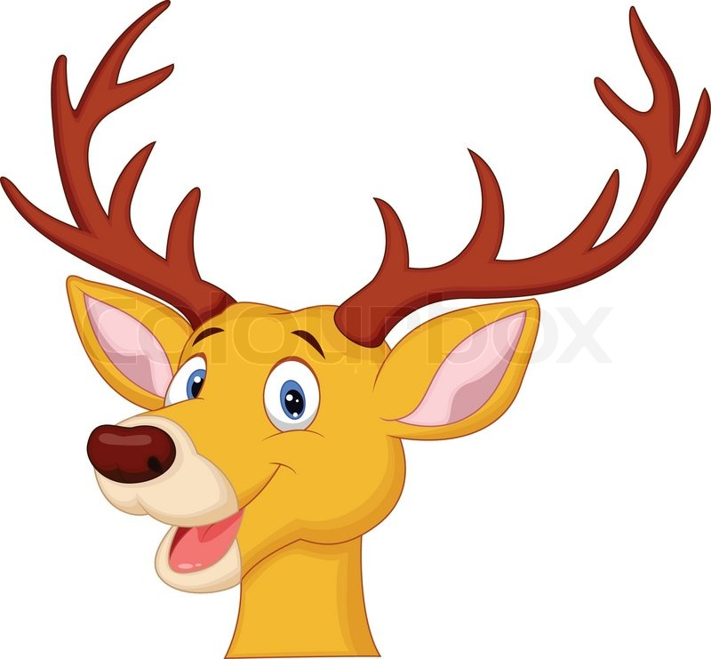 Deer face clipart 4 » Clipart Station.