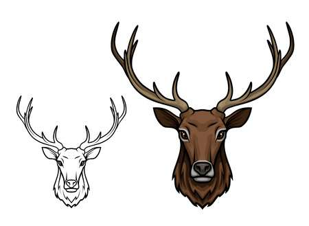 2,720 Reindeer Face Cliparts, Stock Vector And Royalty Free Reindeer.