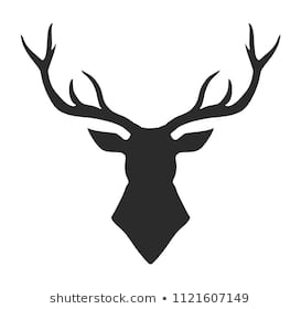 Deer Head Clipart Black And White (95+ images in Collection) Page 2.