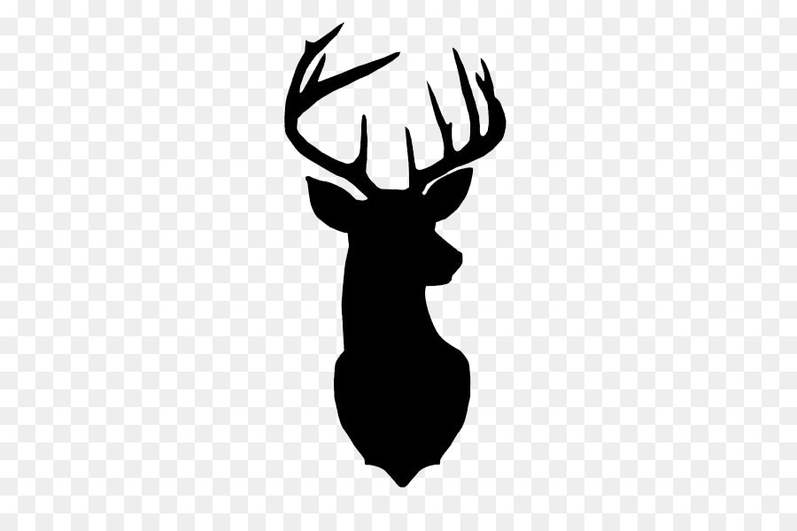 Reindeer Silhouette Png Black And White & Free Reindeer Silhouette.
