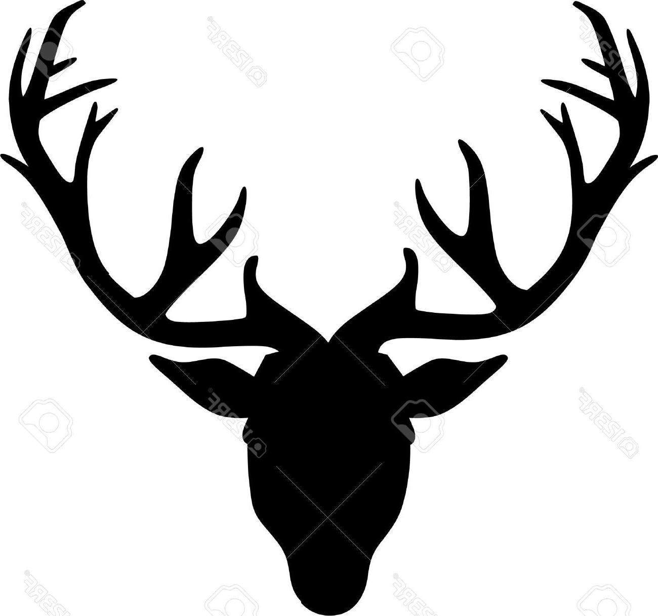 Best Deer Head Outline Clip Art Cdr » Free Vector Art, Images.