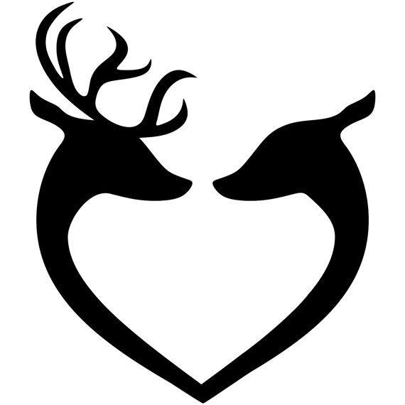 Deer Horns Silhouette at GetDrawings.com.