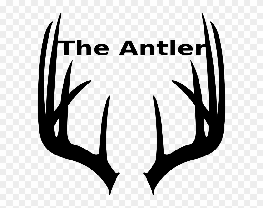 Free Moose Antlers Clipart Image.