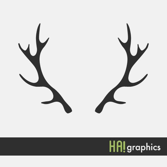Horns clipart deer antler #14.
