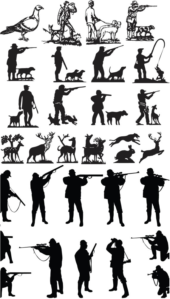 deer hunter silhouette clipart 20 free Cliparts | Download ...