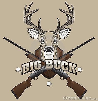 Clipart hunting deer.