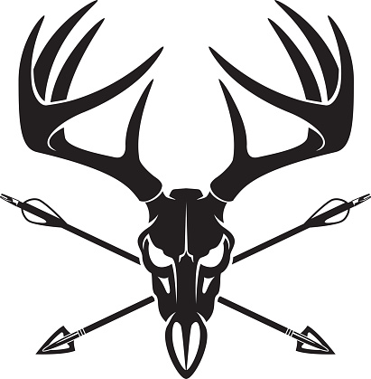 Deer Hunting Clipart.
