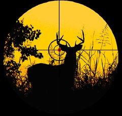 Deer Hunting Clipart.