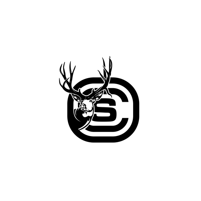 Deer Hunting Logo for my classy, but redneck clients..