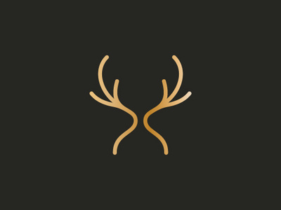 Romantic Deer Logo ( SOLD ) by Dovs on Dribbble.