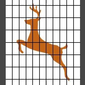 Deer netting clipart #5