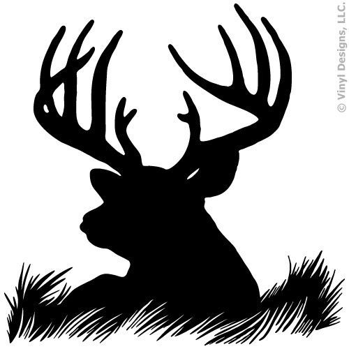 Deer netting clipart #8