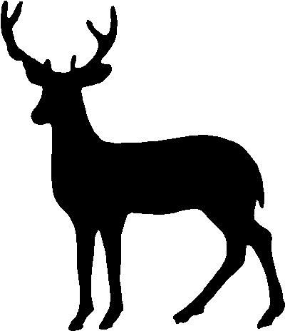 Deer Outline Clipart Best.