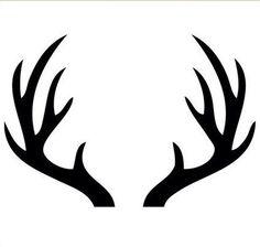 218 Deer Antler free clipart.