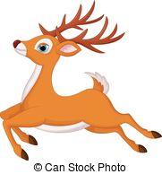 Running deer Stock Illustrations. 607 Running deer clip art images.