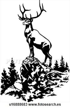 Deer Scene Clipart Clipground