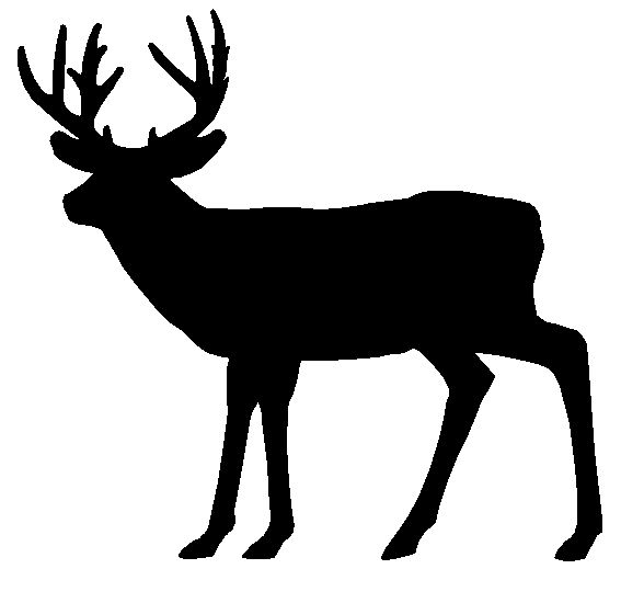 Free Deer Clipart Black And White, Download Free Clip Art.
