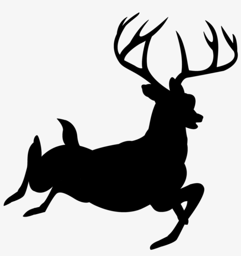 Buck Clipart Forest Deer.
