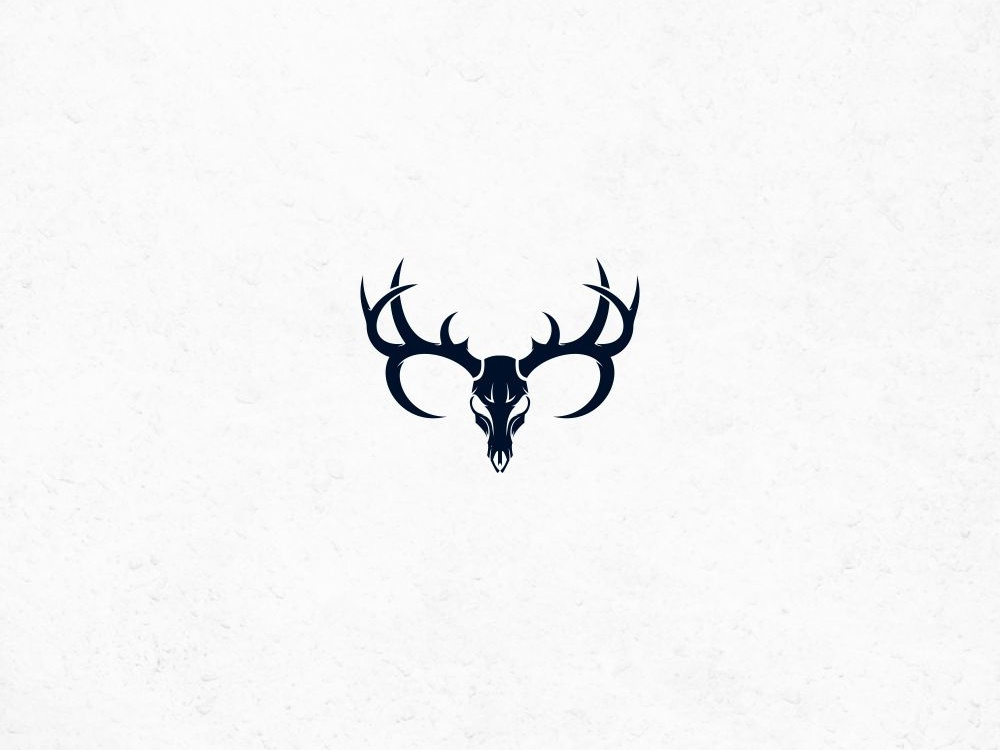 skull deer logo by RamaDani on Dribbble.