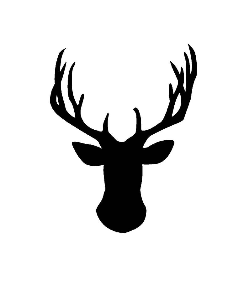 Deer SVG and PNG Digital Download.