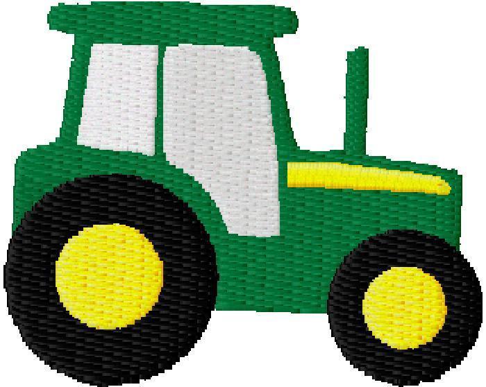 John Deere Tractor Clipart.