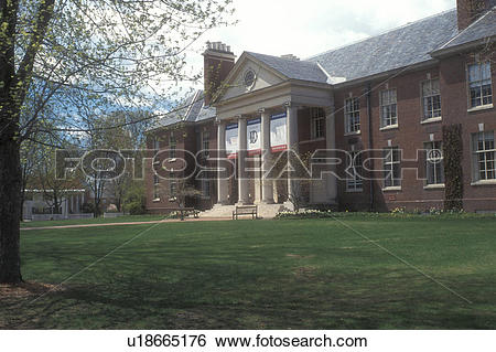 Stock Images of university, Deerfield, Massachusetts, The.