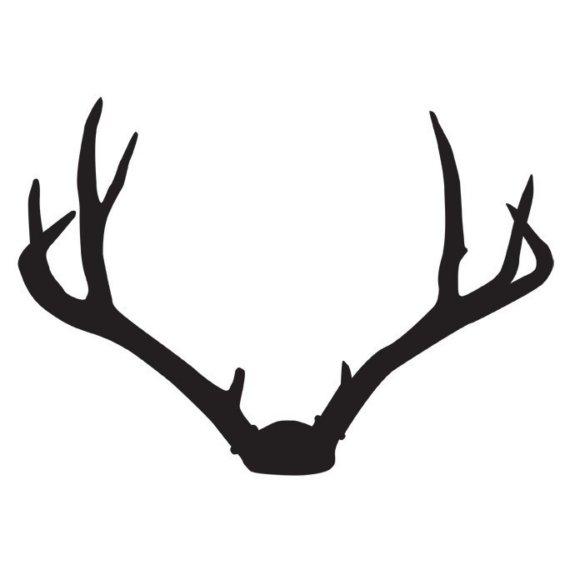 Free clipart deer antlers.