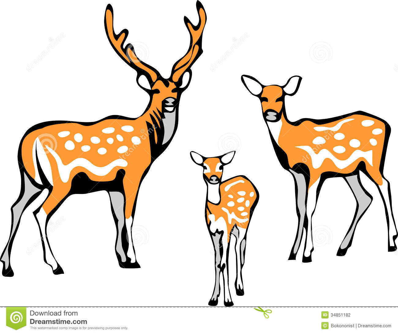 Sika Deer Clipart Clipground