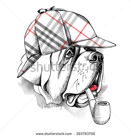 Deerstalker Stock Vectors, Images & Vector Art.