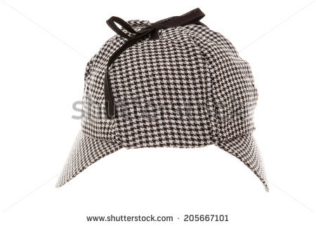 Sherlock Hat Stock Images, Royalty.