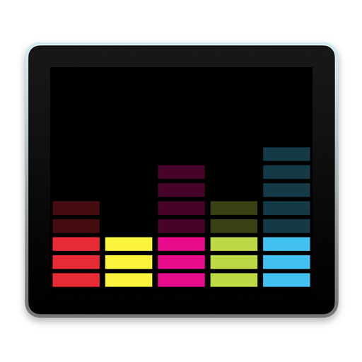 Deezer Rectangle Color JasonZigrino icon 1024x1024px (ico, png, icns.