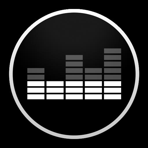 Deezer Round White JasonZigrino icon 1024x1024px (ico, png, icns.