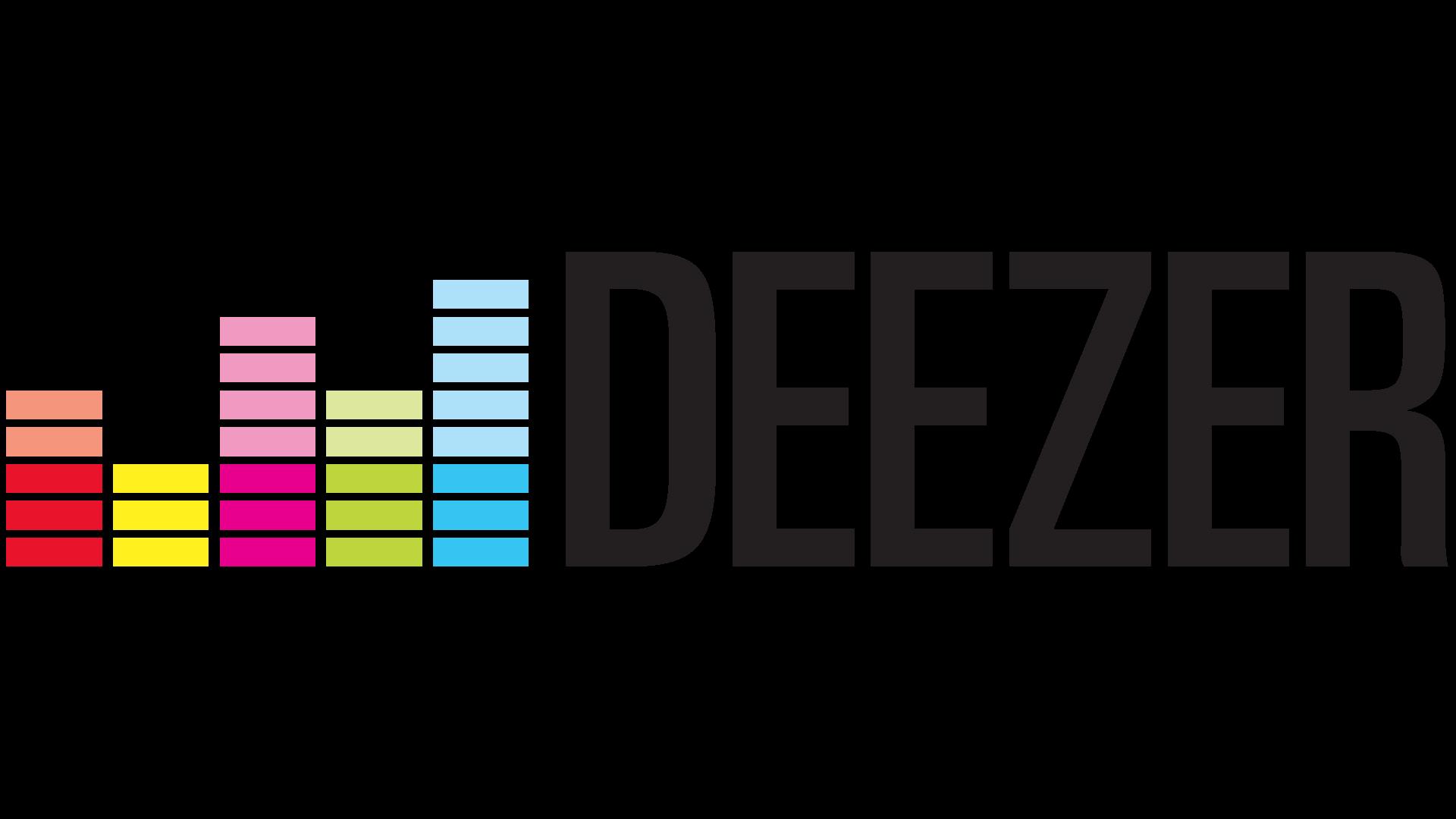Deezer Logo transparent PNG.