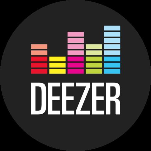 deezer logo circle.