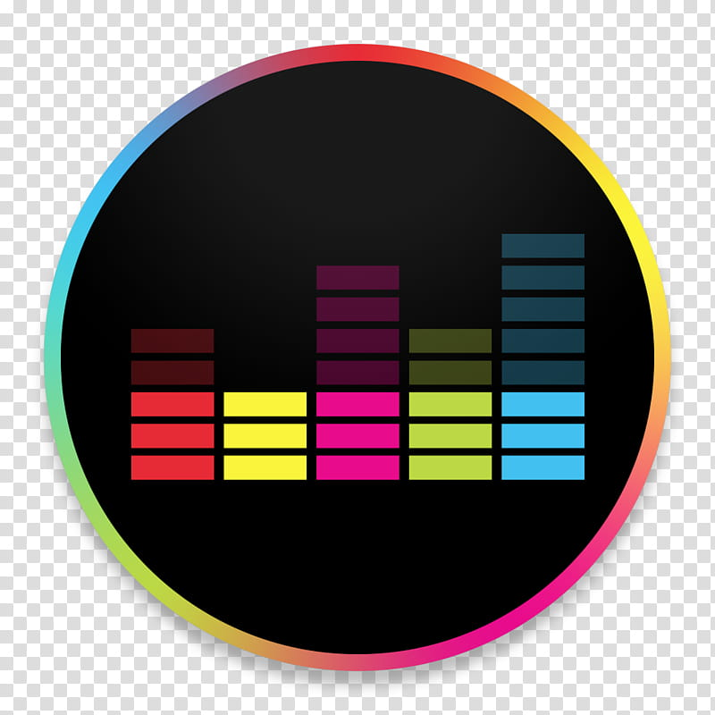 OS X Yosemite Deezer, music equalizer illustration.