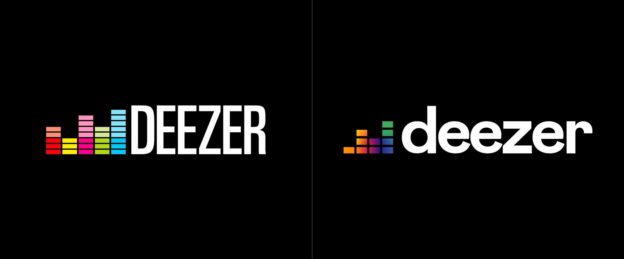Brand New: New Logo for Deezer.
