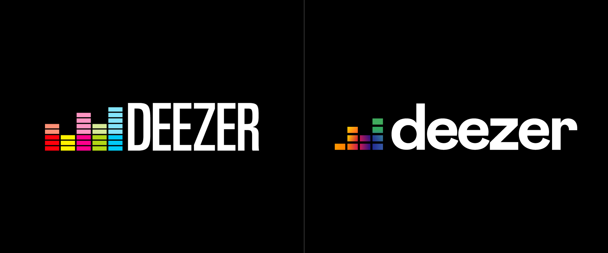Brand New: New Logo for Deezer.