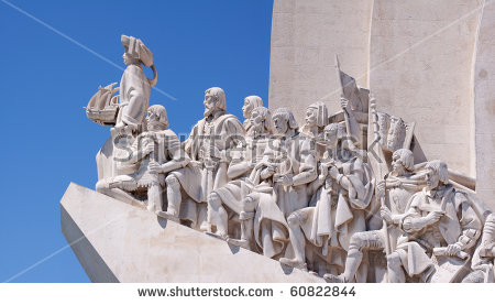 Padrao Dos Descobrimentos Monument Discoveries Celebrates Stock.