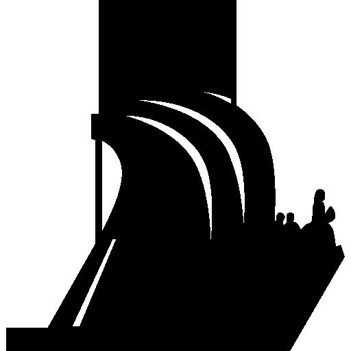 Padrao dos descobrimentos monument silhouette.