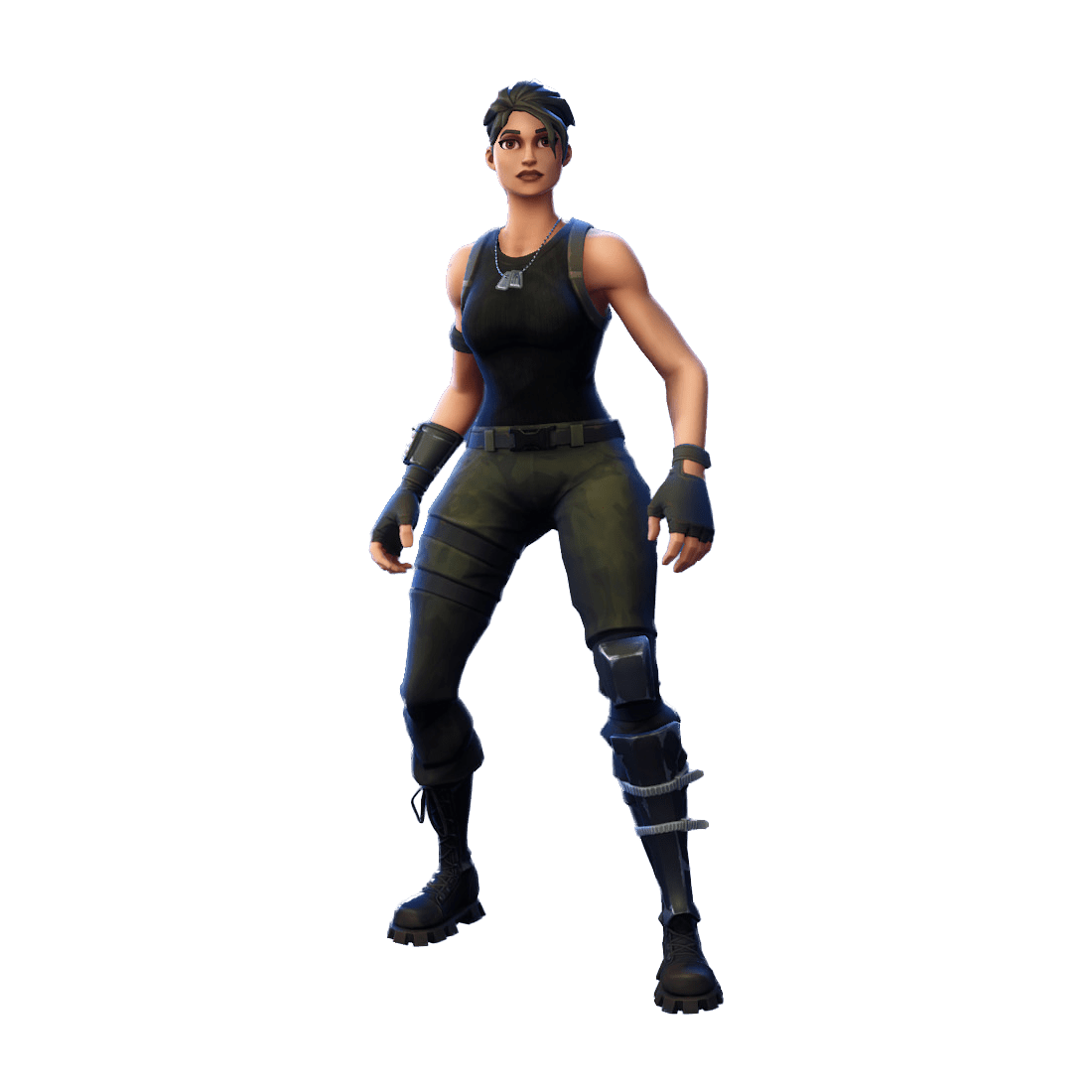 Fortnite Commando Skin.
