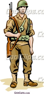 Wwii Soldier Clipart.