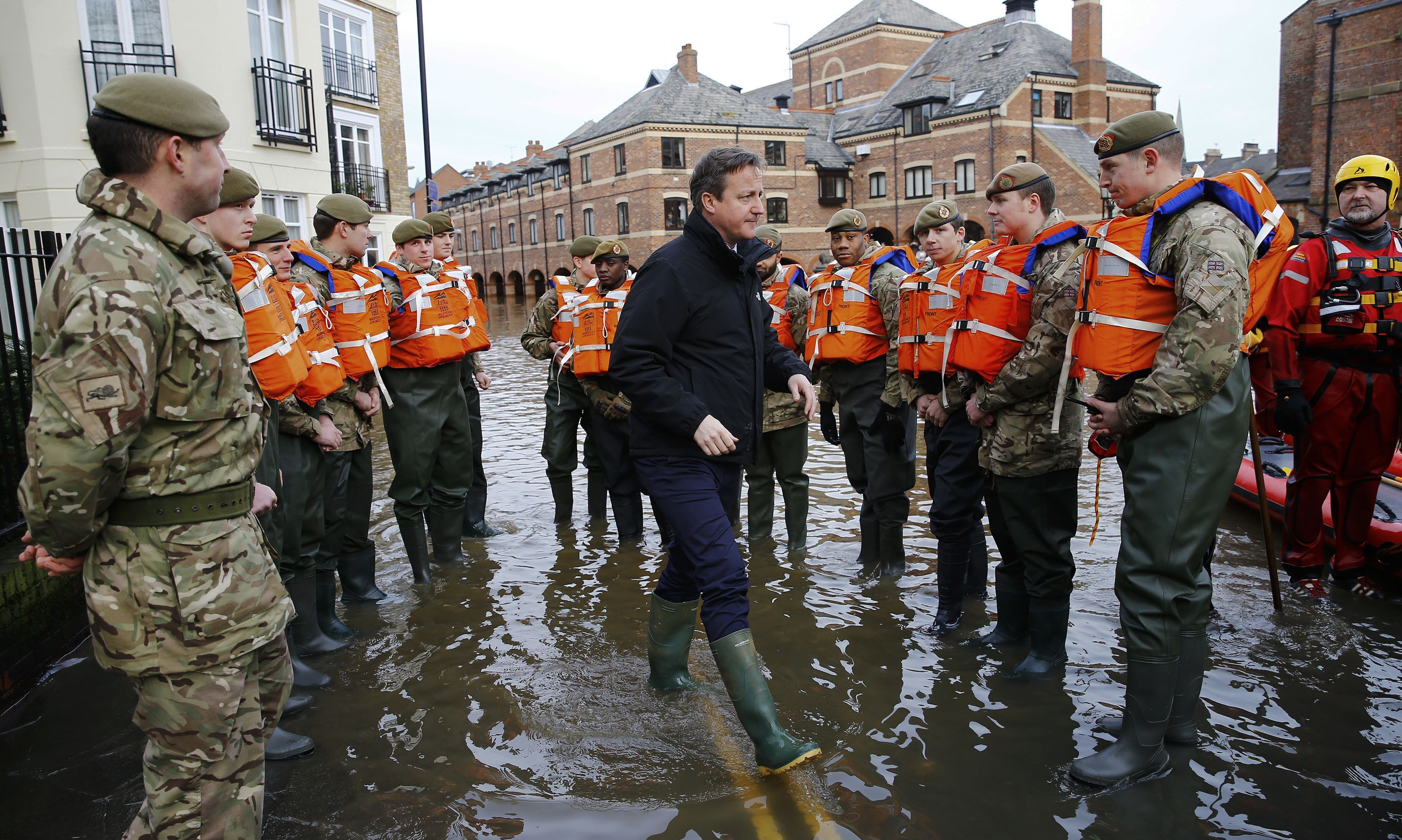 MPs Criticise Government For Lack Of Flood Defence Construction.