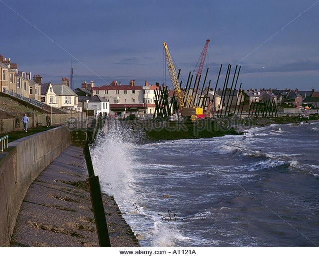 Reinforced Concrete Sea Wall Stock Photos & Reinforced Concrete.
